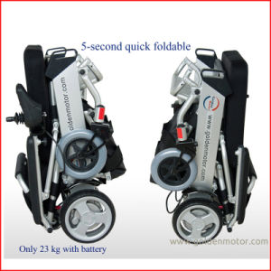 Foldable, Power, Portable Brushless Wheelchair pictures & photos