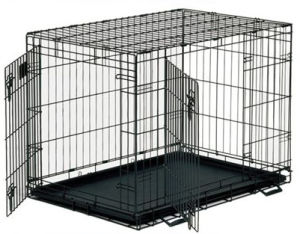 Med-Vet-Sdg01 Foldable Dog Wire Cage pictures & photos