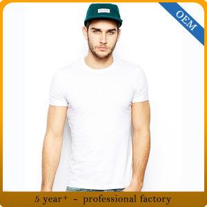 Wholesale Men′s Plain Blank White T Shirt pictures & photos
