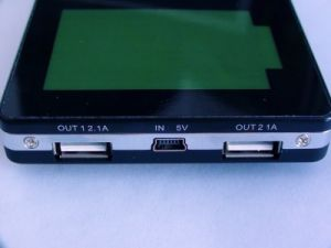 High Capacity Power Bank 12000mAh with Dual Output