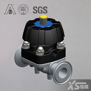 Stainless Steel Sanitary Hygienic Manual Diaphragm Valves pictures & photos