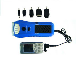 High Quality Crank Flashlight Radio (HT-3038) pictures & photos