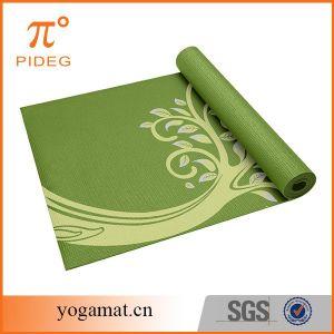 Yoga Mat PVC 6mm Yoga Mat pictures & photos