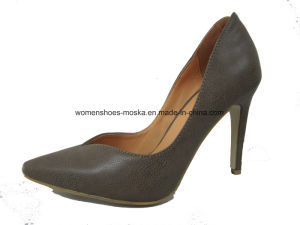 High Heel Women Fashion Sexy Lady Dress Shoes with Pointy Toe pictures & photos