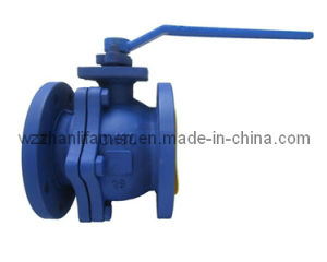 DIN 2-PC Ball Valve Carbon Steel/Stainless Steel pictures & photos