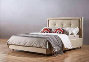 2015 Latest Modern Bedroom Fabric Bed (A13) pictures & photos