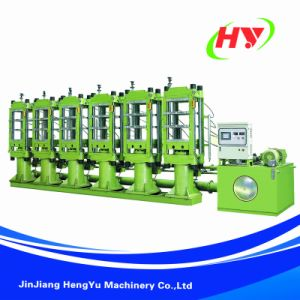 High Pressure EVA Shoes Minitype Foaming Machine pictures & photos