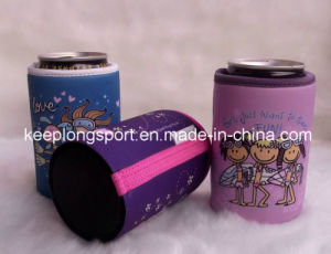 Insulated Sublimation Printing Neoprene Can Cooler with Glued Bottom pictures & photos