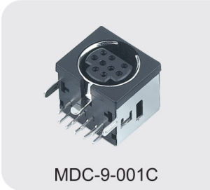 Mini DIN Connector (MDC-9-001C) pictures & photos