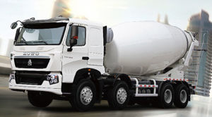 Sinotruk HOWO Brand 8X4 Driving Concrete Mixer Truck pictures & photos