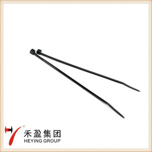 Natural Black Colour Nylon Cable Tie with Self-Locking pictures & photos