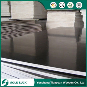 Shuttering Building Construction Material Film Faced Plywoodconcrete Formwork Plywood---Gold Luck pictures & photos