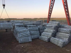 Galvanized Ground Steel Helical Screw Piles pictures & photos