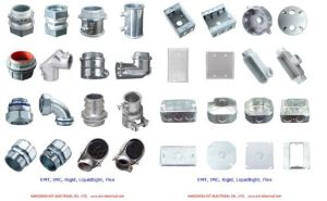 Liquid-Tight Connector Angle Zinc Die Cast pictures & photos