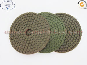 100mm Flexible Polishing Pad Wet Use pictures & photos