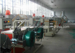 Automatic Plastic PET/PP Packing Strapping Band Extruder Machine Manufacturer pictures & photos