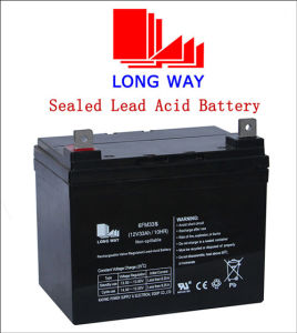 12V33ah Deep Cycle Rechargeable Soar Battery pictures & photos