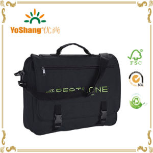 Nylon Fashion Design Briefcase Pattern Men Polyester Single Shoulder Bag for MacBook pictures & photos