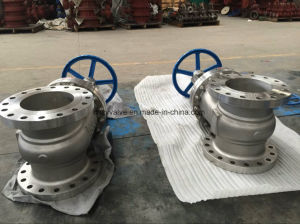 "API600 Cast Steel Stainless Steel Dn80 Class150 Gate Valve (Z41W-150LB-3"") pictures & photos"