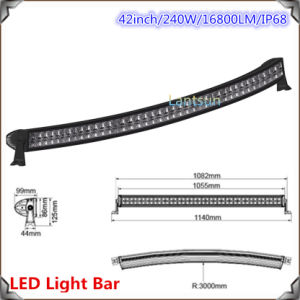 240W CREE Driving LED Light Bar pictures & photos