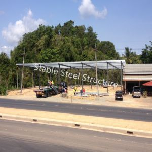 Pre Engineered Steel Structure Storage Warehouse Building with Low Cost pictures & photos