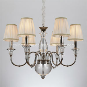 CE UL Approved Crystal Iron Chandelier Lighting (SL2068-6) pictures & photos