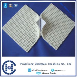 92% & 95% Abrasive Resistant Alumina Ceramic Square Tile Mat pictures & photos