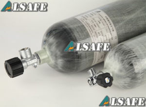 Ultra Light Weight Carbon Fiber Composite Paintball Air Cylinder pictures & photos