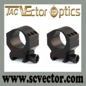 Vector Optics 30mm Tactical Low Profile Rifle Scope Picatinny Mount Ring High End pictures & photos