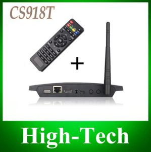 CS918t Android 4.4 TV Box Rk3188 1.6 GHz Quad Core 1GB RAM 8GB ROM Xbmc WiFi Bluetooth CS918 T Web Camera RJ45 AV out Microphone
