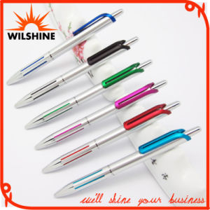 Fashion Design Elegant Click Plastic Ball Point Pen for Promotional Logo (BP1201S) pictures & photos