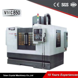 CNC Vertical Machining Center and Milling Machine Vmc850 pictures & photos