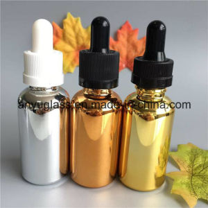 Electroplating Color Essential Oil Glass Bottles Dropper Bottles 15ml, 30ml pictures & photos