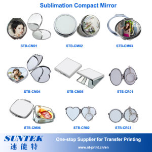 Sublimation Blank Compact Mirror Pocket Mirror pictures & photos