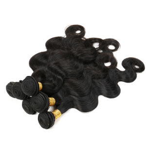 100% Human Hair Weave Malaysian Body Wave Hair pictures & photos