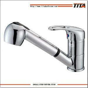 2014 Popular Design Pull out Kitchen Faucet Nh5608 pictures & photos