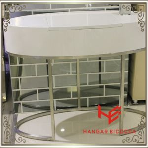 Side Table (RS161701) Modern Furniture Dressing Table Stainless Steel Furniture Home Furniture Hotel Furniture Table Coffee Table Console Table Tea Table pictures & photos