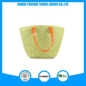 Designed Straw Ladies Shoulder Tote Beach Bag pictures & photos