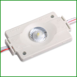 3030 Injection with Lens Waterproof LED Module 12V 1.5W pictures & photos
