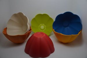 (BC-B1027) Bamboo Fiber Tableware Flower Bowl pictures & photos