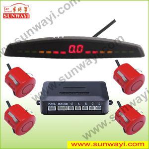 Car LED Ultrasonic Parking Sensor with 4 Sensors