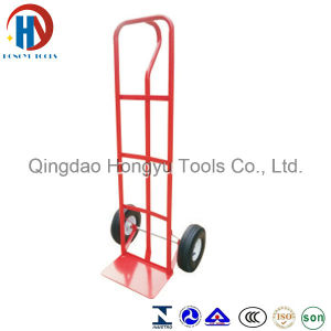 Ht1805 Warehouse Steel Two Wheel Hand Trolley pictures & photos