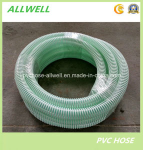 PVC Plastic Flexible Water Spiral Suction Discharge Hose pictures & photos