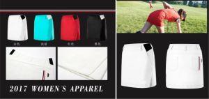 OEM Women′s Golf Skirt Short Pants Dry Fit Summer Sports Anti Leakage Short Pant Skirt pictures & photos