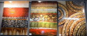 Oil Painting of Abstract for Home Decoration-9 pictures & photos