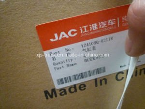 Yz4108q-02118 JAC Truck Engine Cylinder Liner Sleeve pictures & photos