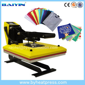 Fashion Yellow 15′x15′ High Pressure T-Shirt Heat Transfer Press Machine pictures & photos