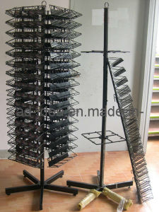 Rotating Floor Display Stand/Metal Display Stand pictures & photos