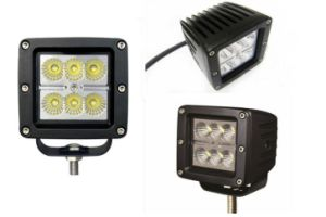 Square 24W CREE Spot Flood Beam LED Work Light pictures & photos