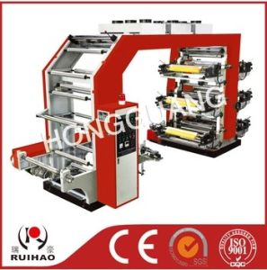 High Speed 6color Plastic Film Flexible Printing Machine pictures & photos